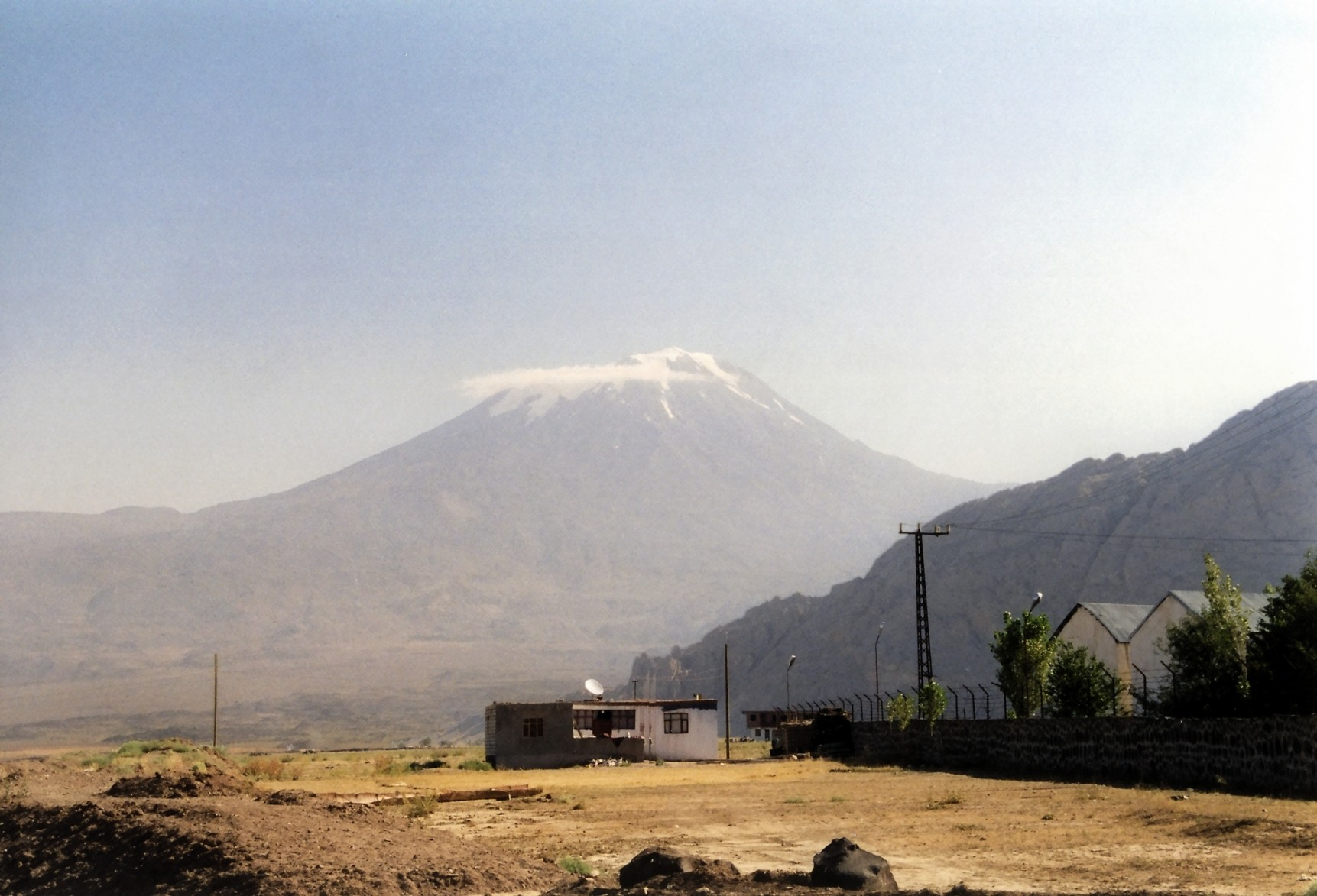 Mount Ararat from east of Dogubeyazit, Turkey