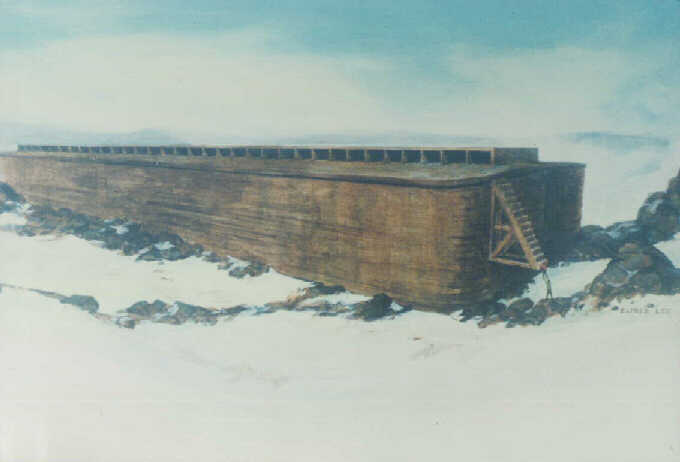 Noah's Ark (real design, not storybook)