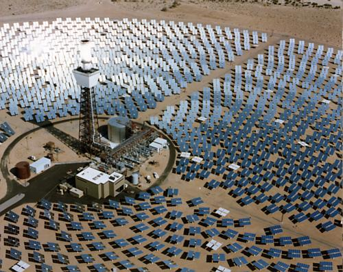 Solar One power plant