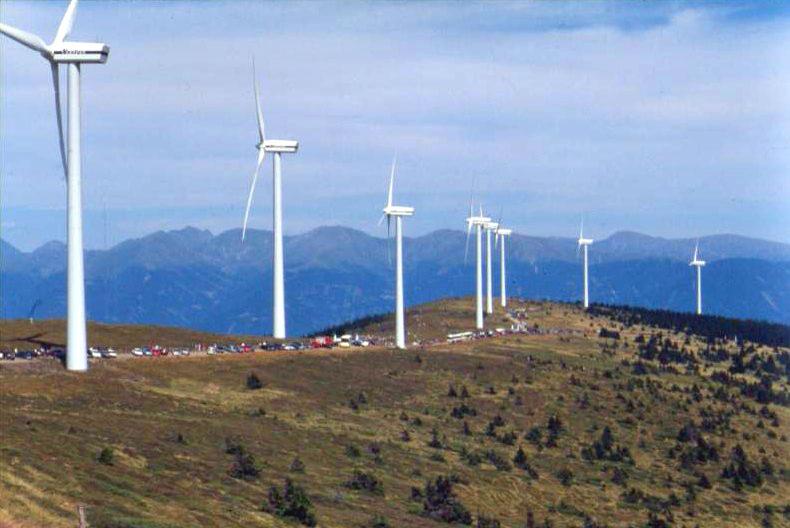 Wind farm in Germany