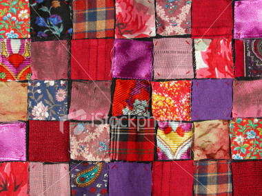Quilting - Wall Quilts - Twisted Patchwork Free Quilt Pattern