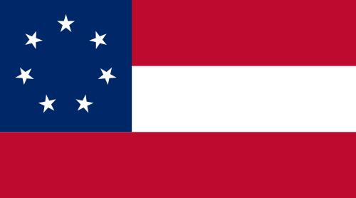 Original Stars-n-Bars flag of the Confederacy