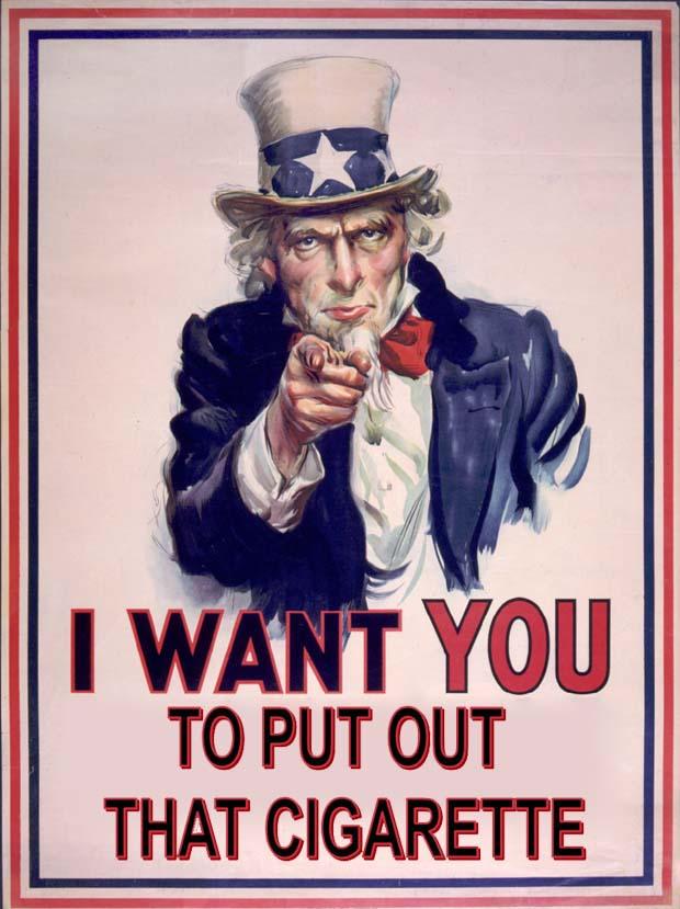 no-smoking - Uncle Sam