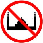 No Mosque sign