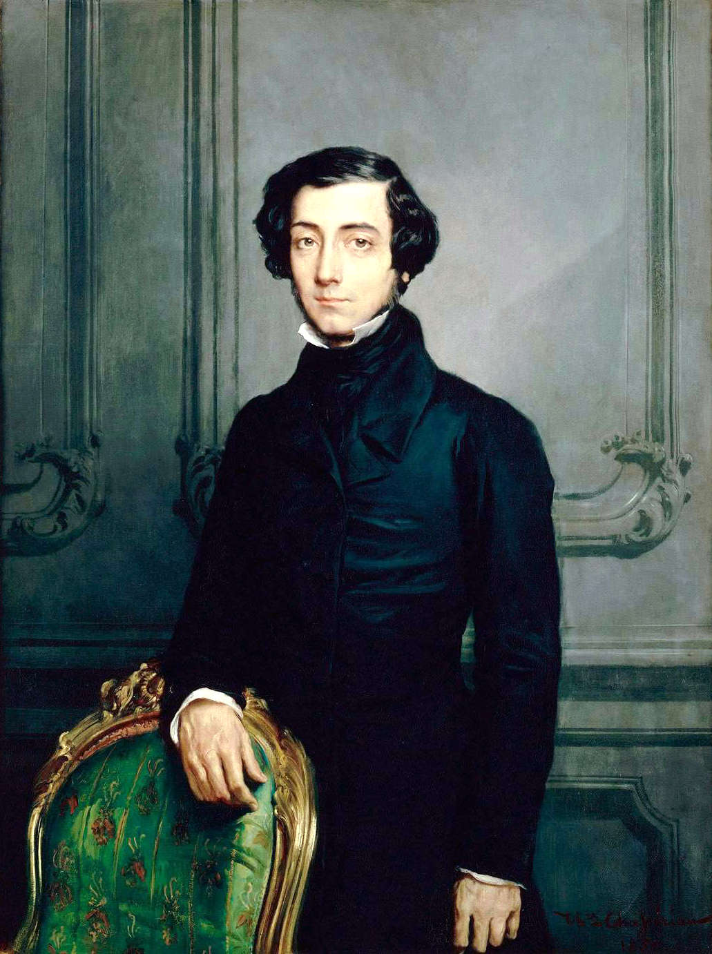 painting of Alexis de Tocqueville