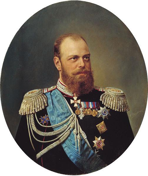 Russia's Czar Alexander III