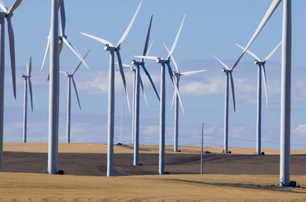 Biglow Canyon Wind Farm, Oregon