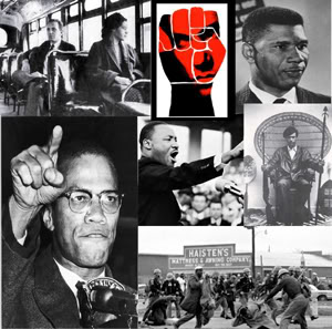 Civil Rights collage