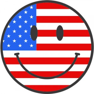 smiley face patriot