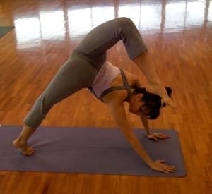 Yoga pose - nui