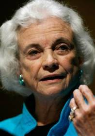 Supreme Court Justice Sandra Day O'Connor (retired)
