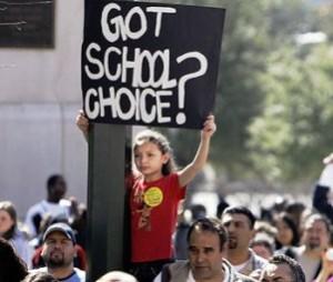 school choice demonstration