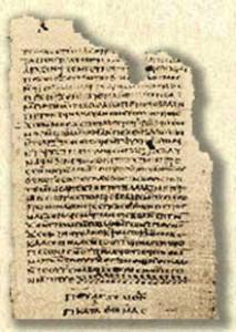 Gospel of Thomas page