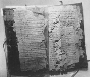 Codex IV of Nag Hammadi library manuscripts