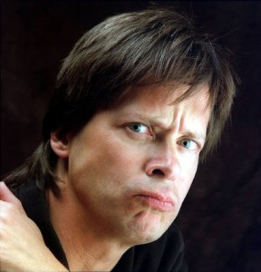 Dave Barry scowling