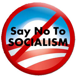 """Say No To Socialism"" patch"