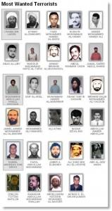 FBI Most Wanted Terrorists - 2010