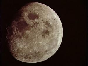 Earth's Moon as seen from Apollo 8