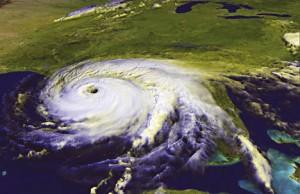 satellite image of tornado