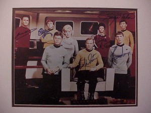 original Star Trek bridge crew