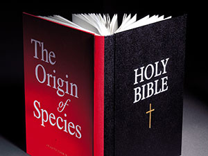 Bible merged with Origin of Species