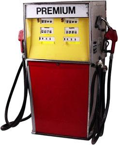 Premium gas pump
