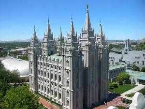 Large Mormon Temple