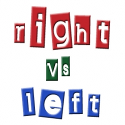 right-vs-left sign