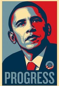"Obama ""Progress"" poster"
