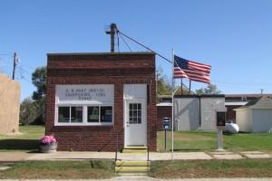 Tiny post office in Sharpsburg