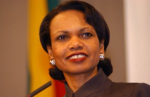 Condi Rice on NewsHour