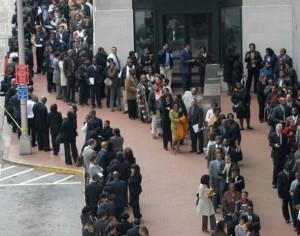 long (un)employment line