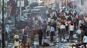 IRA bombing aftermath - Aug 1998