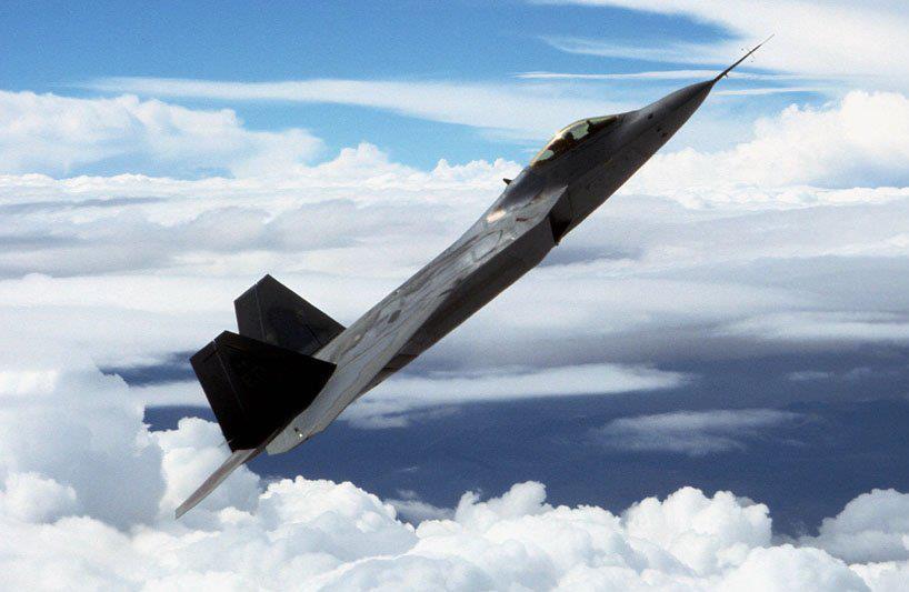 US F-22 Raptor Advanced Tactical Fighter