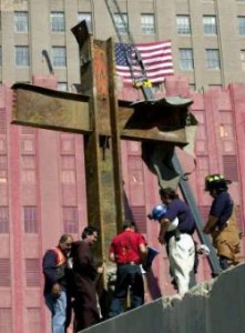 WTC Cross at Ground Zero