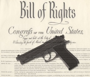 Bill of Rights + pistol