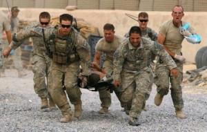 U.S. troops in Kandahar