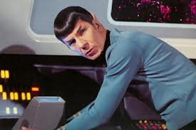 Spock at viewer