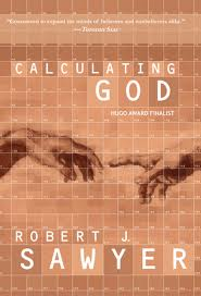 "cover of book ""Calculating God"""