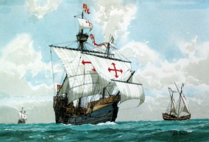 Ships of Columbus' First Voyage