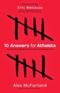 "Cover to book ""10 Answers for Atheists"""