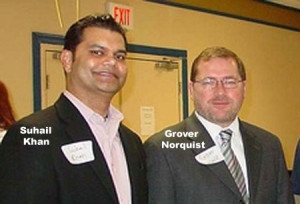Suhail Khan and Grover Norquist