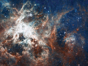 nebulae in space