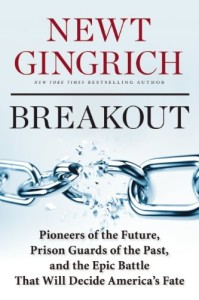Cover of 'Breakout' book by Gingrich