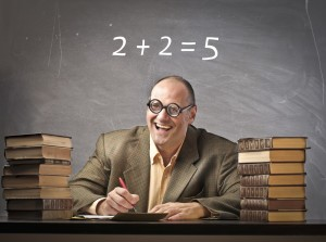 bad math - teacher - 2+2=5