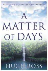 "Cover to ""A Matter of Days"" by Hugh Ross"