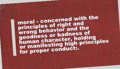 Book on ethics and morality