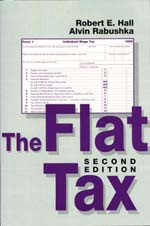 Cover to The Flat Tax, 2nd edition