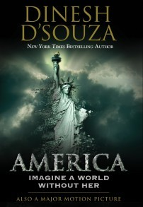 "cover to ""America"" by D'Souza"