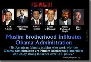 Muslim Brotherhood Infiltrates Obama Administration